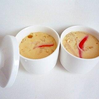 だしつゆで簡単 茶碗蒸し