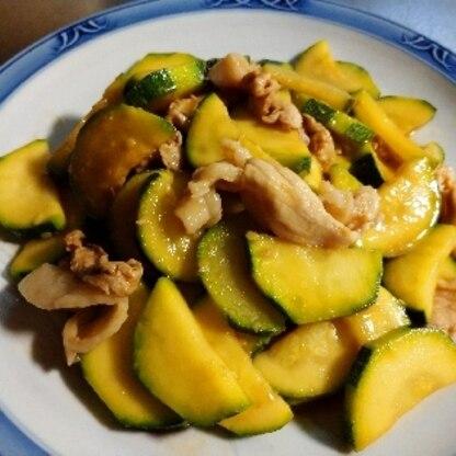 夏らしい さっぱりとした味で家族にとても大好評でした。 作り過ぎたかなと思いましたが 1皿みんなでペロリと完食です。 (^ω^)