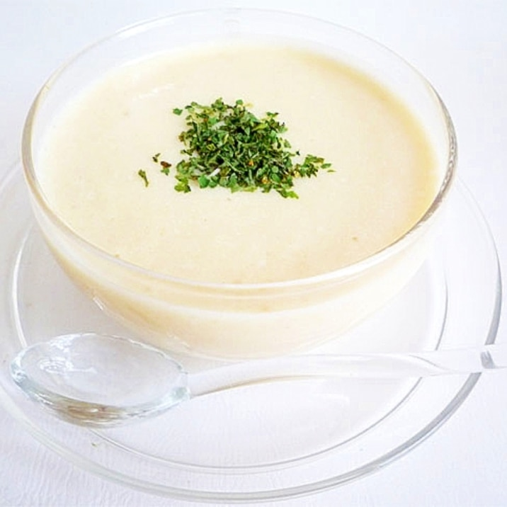 ヴィシソワーズ ポテトと豆乳の冷製ポタージュ