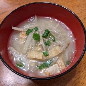 大根とゴボウのお味噌汁