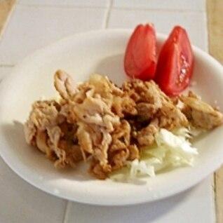 豚肉のシンプルスタミナ焼き