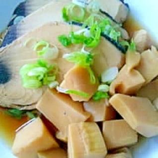 なまり節と筍の煮物