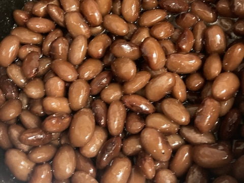 作り置き☆金時豆の煮物