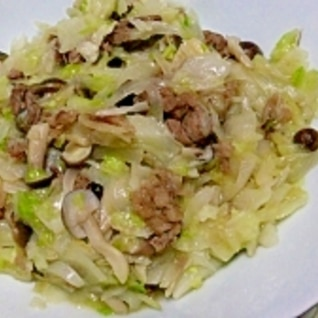 塩もみキャベツで、沢山野菜を摂ろう~牛肉炒め♪