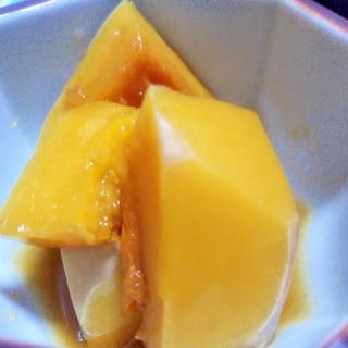 皮剥きバターナッツかぼちゃの煮物