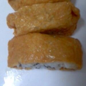簡単酢でいなり寿司