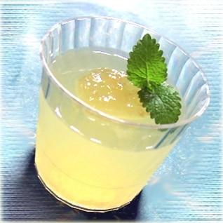 ホエイ(ホエー)活用☆ はちみつレモンゼリー