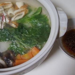 ワタリガニ鍋