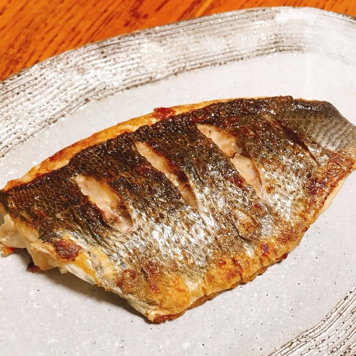 【切り身使用】フライパンでイサキの塩焼き