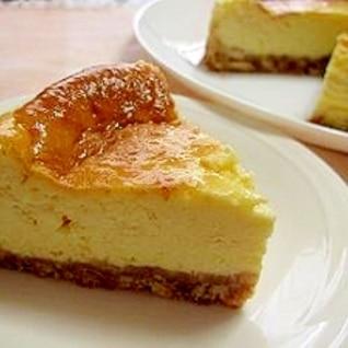 簡単!濃厚!ベイクドチーズケーキ