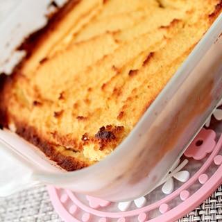 チーズケーキのようなココナッツベイクドレモンケーキ