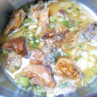 東のまるごと鍋★鯉とネギの鍋