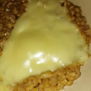 意外な美味しさ♪ 納豆チーズ