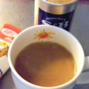 少し甘いものが飲みたいときに練乳コーヒー