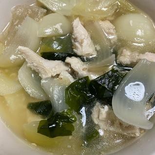 白だしのさっぱりスープ