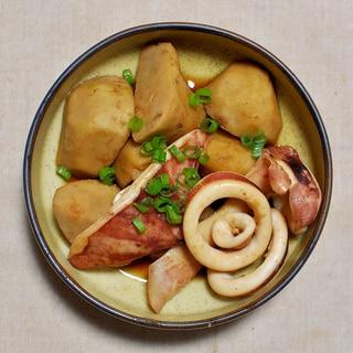 いかと里芋の煮物