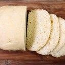 HBで生おから入りの素朴な白パン