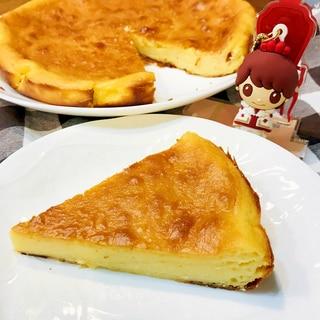 レモン香る♡濃厚さっぱりベイクドチーズケーキ
