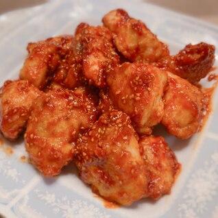 しっとり柔らか♡鶏胸肉のヤンニョムチキン