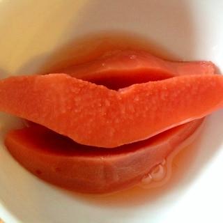 マルメロの砂糖煮