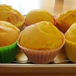 バター&砂糖控えめ♪かぼちゃマフィン