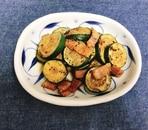 【夫婦のおつまみ】ズッキーニとベーコンの炒め物