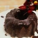 混ぜるだけ☆簡単チョコレートケーキ