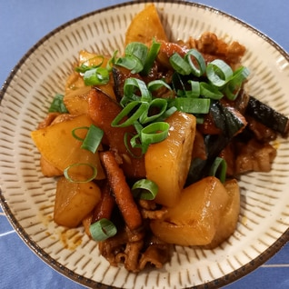 大根☆かぼちゃ☆豚肉のこっくり煮