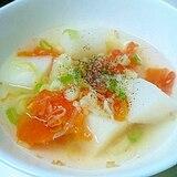 トマトと大根の和風ぽかぽかスープ