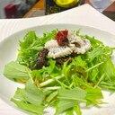 鱧と水菜の冷製パスタ