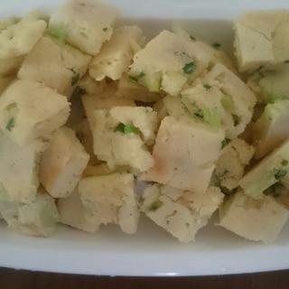 離乳食完了期  米粉の納豆お好み焼き