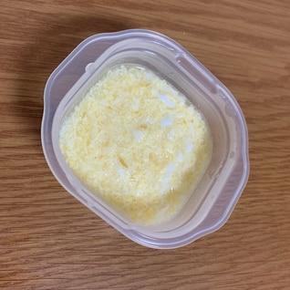 【離乳食】ふわふわ卵
