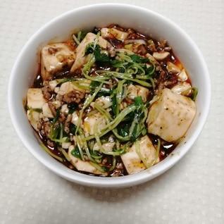 麻婆豆腐の素をアレンジ