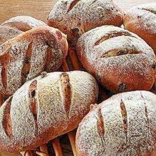 カレンズ・クランベリーのハード系? パン