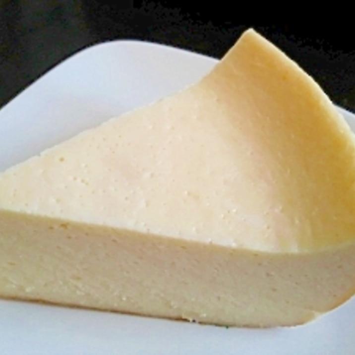炊飯器で簡単♪チーズケーキ