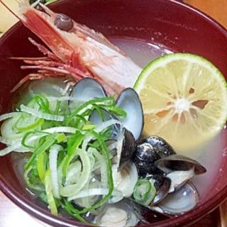 お節やお祝事に★海老とシジミのリッチなお味噌汁