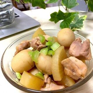簡単!旬の里芋と鶏肉の煮物!