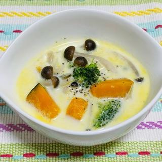 かぼちゃのミルクスープ