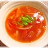 ♪♪缶詰で簡単時短!コーントマトスープ♪♪