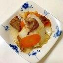 残ったローストポークで 白菜とにんじんの炒め物