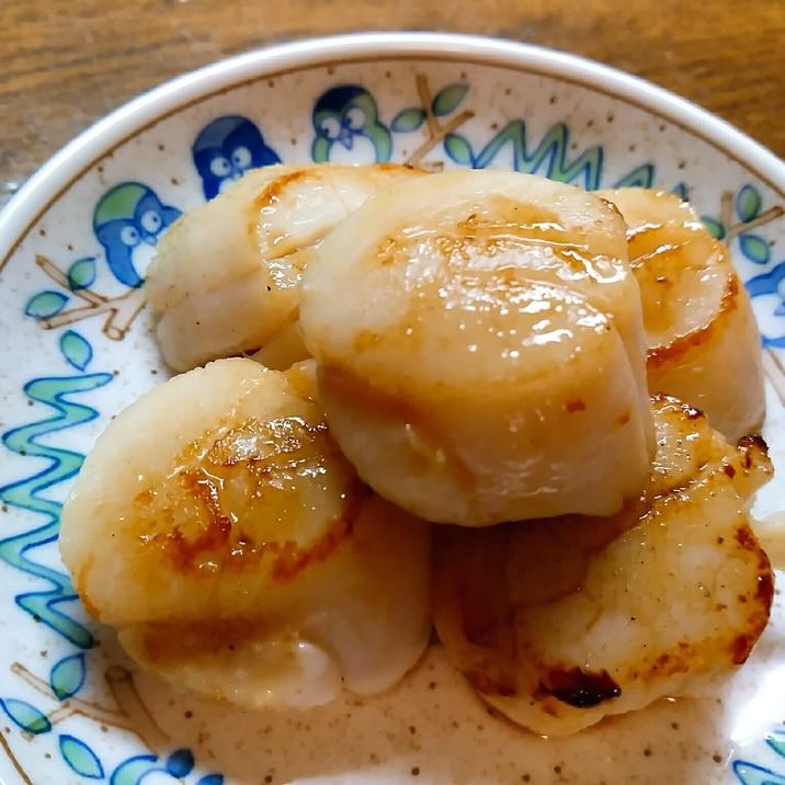 ホタテのバター醤油焼き