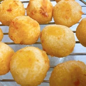 コストコのクリーミーマッシュポテトで★ポテトボール