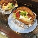 ボリューム大!野菜たっぷりホットドッグ