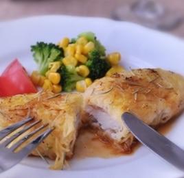 白身魚とポテトのムニエル~レモンバターソース~