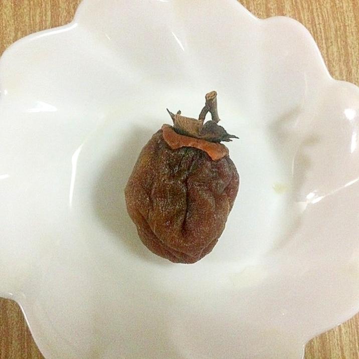 固くなった干し柿を柔らかくするその1