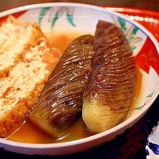 茄子のシャッキリ煮