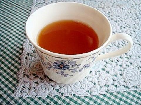 鏡開きに♪橙(だいだい)紅茶