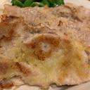 豚もも薄切り肉のパン粉焼き