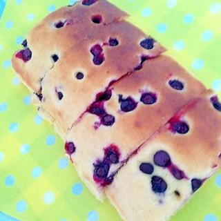 トースターで簡単!ブルーベリーのケーキ♡