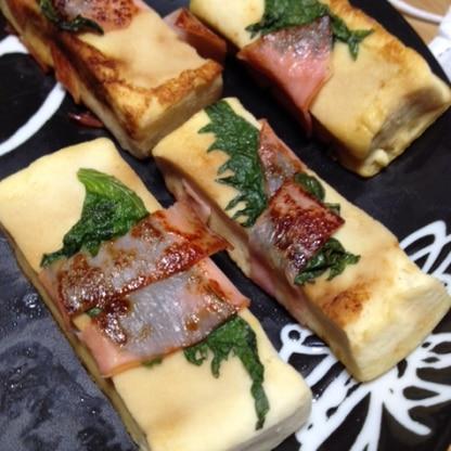 お久しぶりですm(__)mお肉が切らしてましたのでハムで代用して作りました(*^^*)味もとても美味しくて、高野豆腐の煮物よりパクパク食べれますね!また作ります